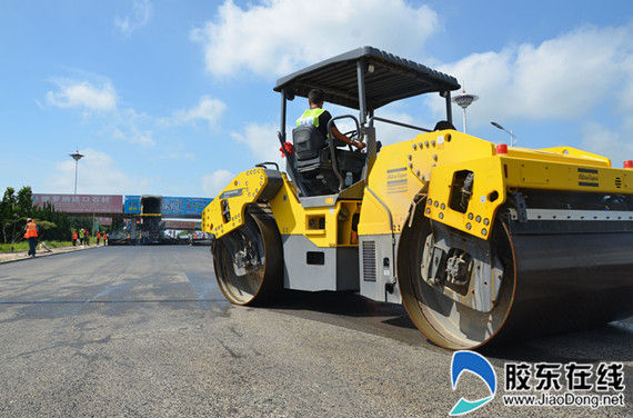 218省道三城线莱州南段大修工程10月底前完工