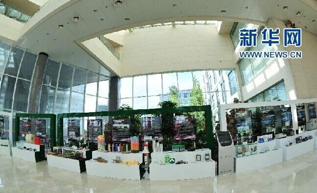 新材料產品展(zhan)示(shi)