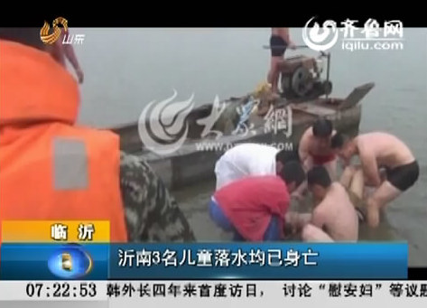 [视频]临沂:沂南3名儿童落水均已身亡