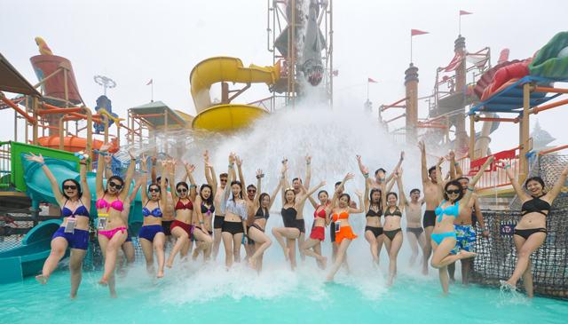 山東蓬萊歐樂堡水上世界7月22日開業 投資6億