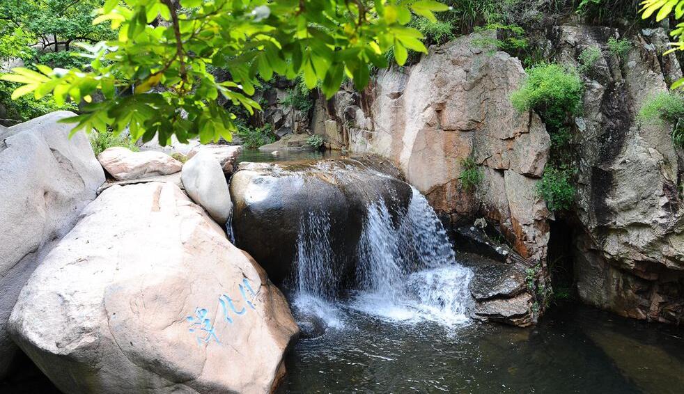 青島:北九水迎今夏最大水量