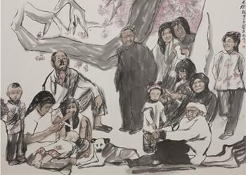 應物·傳神人物畫精品展將于山東美術館展出