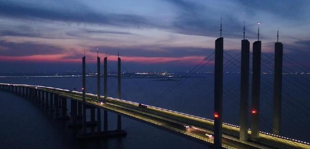 山東之最:膠州灣跨海大橋