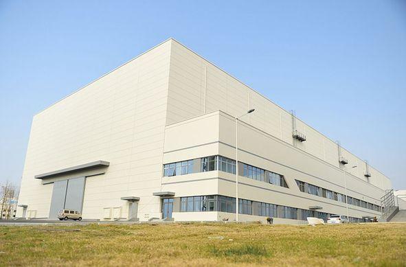 青島:超大攝影棚竣工 面積相當于兩個足球場