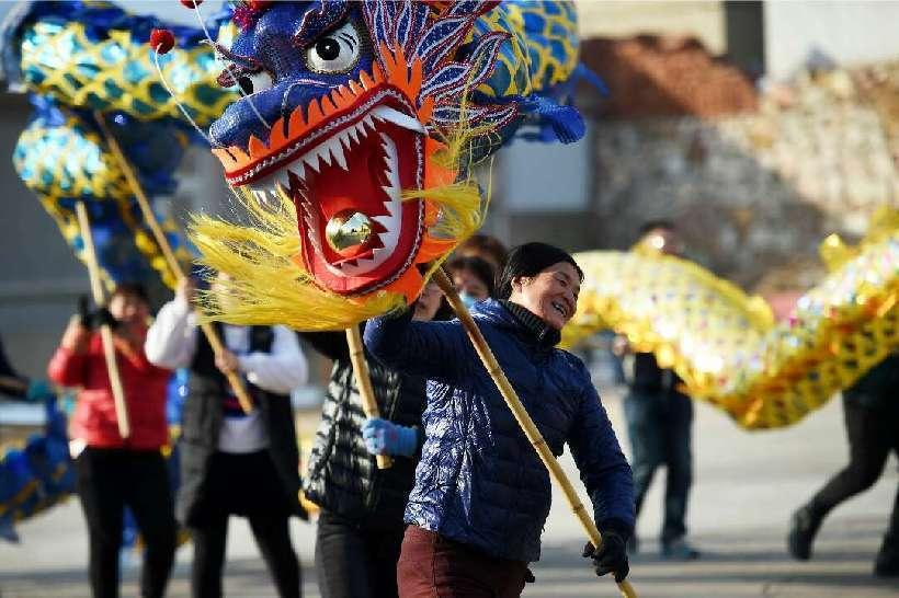 山東唯一海島縣特色民俗 別樣中國年