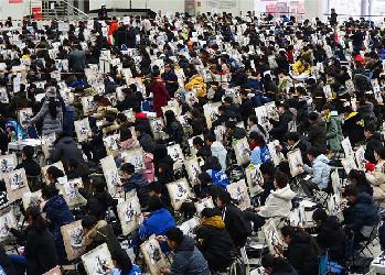 山东2018年艺考开幕 济南六千考生同场竞技