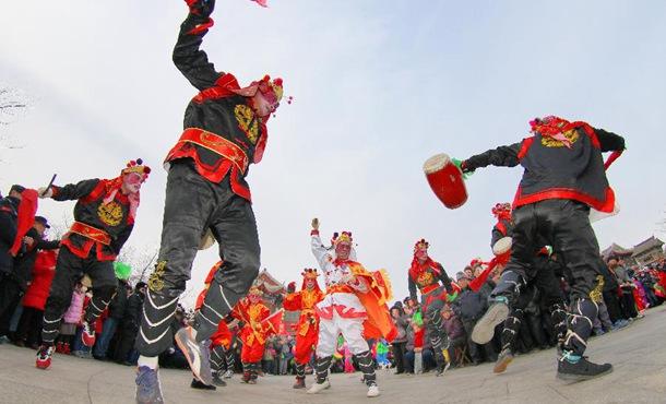 山东烟台:正月民俗俏争春