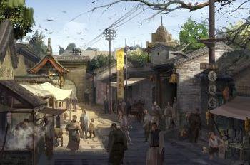 濟南電影小鎮將建成這樣 年底前達到劇組進場條件