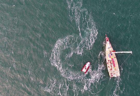 青島新碼頭迎來首秀 被讚西海岸的奧帆