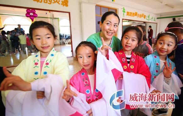 威海:世界戏剧日 名角进校园传国粹