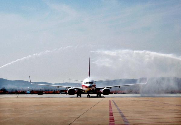 威海开通北京南苑机场航班 下午也有航班飞北京了
