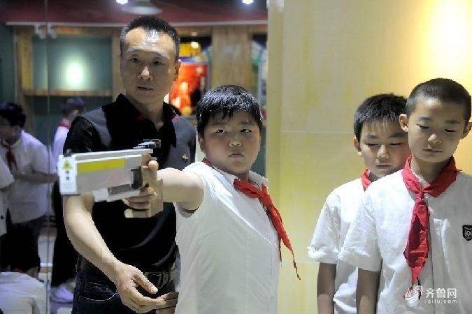 济南开设省内首家小学射击课