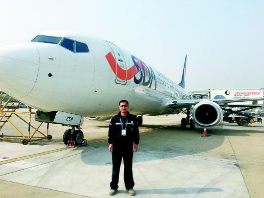 机务工程师刘洪福:喜欢跟飞机打交道的排故高手