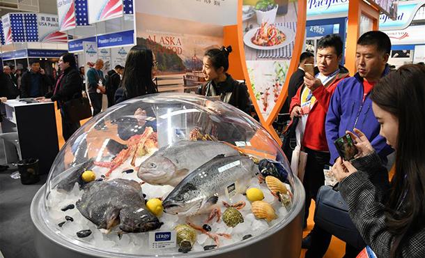 第23屆中國(guo)漁博會青島開幕