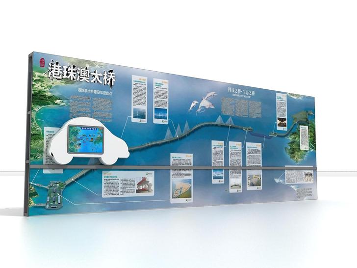 港珠澳大桥模型