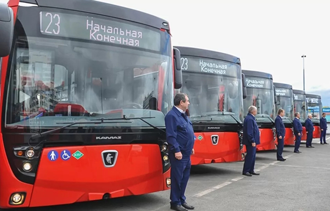 潍柴天然气动力批量进入鞑靼斯坦共和国