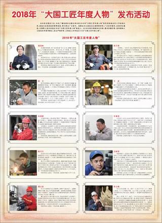 """2018年""""大国工匠年度人物""""发布活动"""