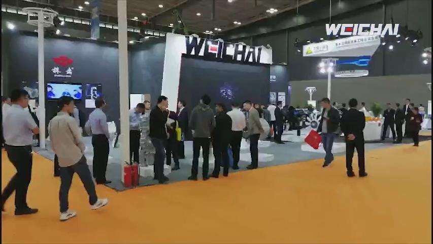 """2019长沙工程机械展 潍柴上演""""实力碾压"""""""