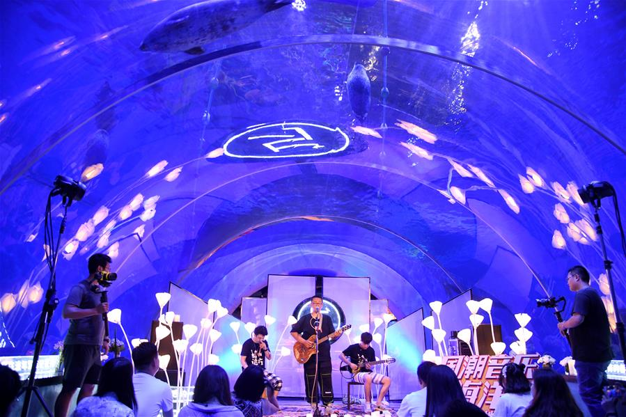 青島:海底音樂會 視聽新體驗