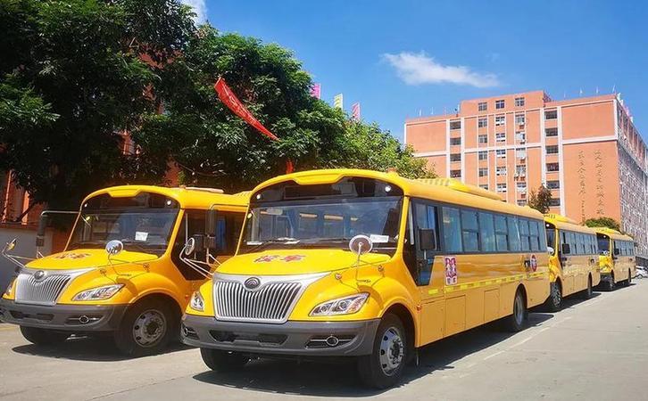 400多辆搭载潍柴WP4.1N、WP4.6N发动机校车陆续交付