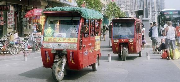 渮(he)澤牡丹(dan)區超標電動三輪(lun)車卷土重來違法拉(la)客