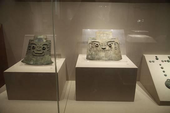 """青州博物馆 商朝作战武器""""铜钺"""""""