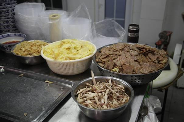 潍坊美食 和乐的各种美味配料
