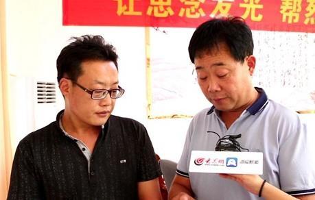张景宪抵安徽将寻亲信送到烈士杨学义侄子手中