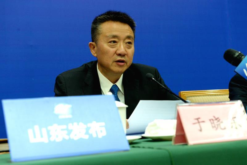 工信部产业政策司副司长于晓东介绍2019世界工业设计大会相关情况