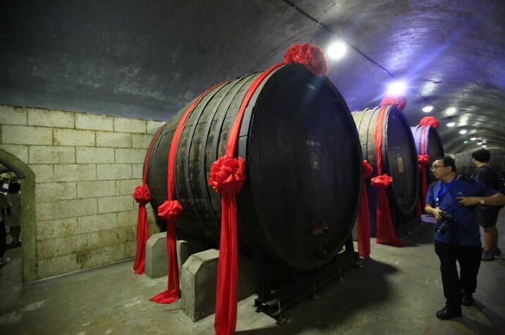 烟台美酒 张裕酒文化博物馆的酒都有故事