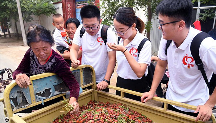 中國海洋大學博士智援團進村助農戶