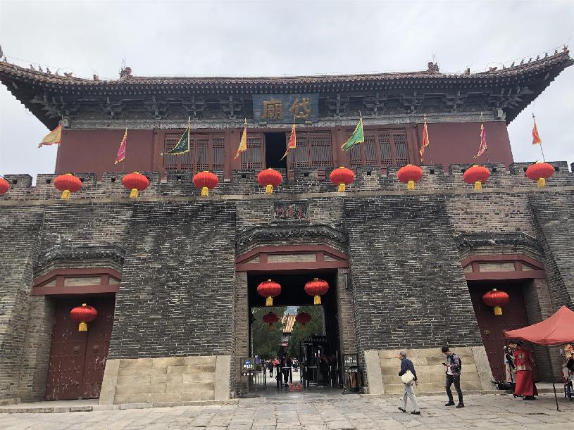 泰安岱庙:中国四大古建筑群之一