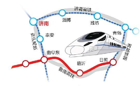 魯南高(gao)鐵日曲段26日通(tong)車 山(shan)東將(jiang)首次出現高(gao)鐵環(huan)線