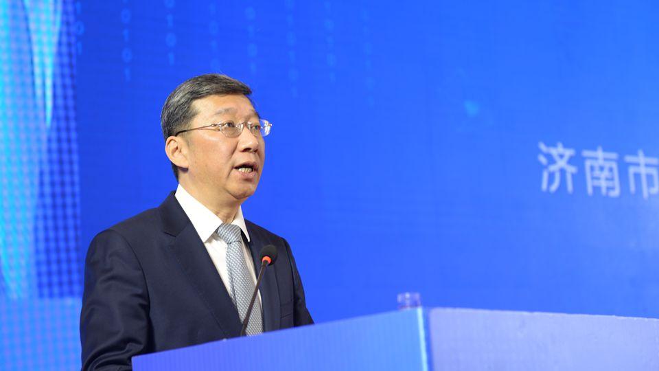 济南市人民政府副市长孙斌在开幕式上致辞