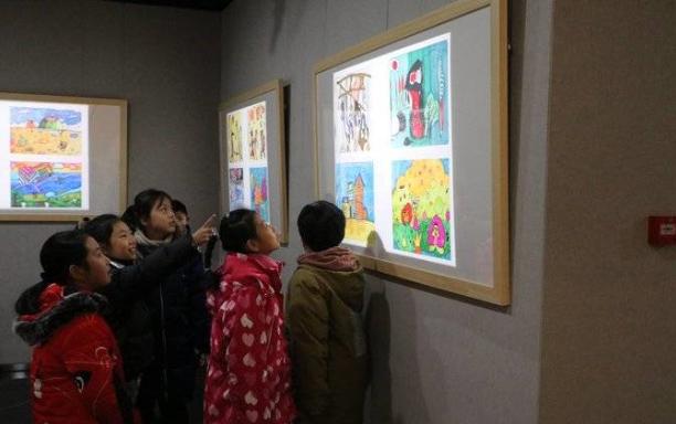 威海市群眾(zhong)藝術館舉辦六省市xing)嗌倌昝朗跏shu)法大(da)展