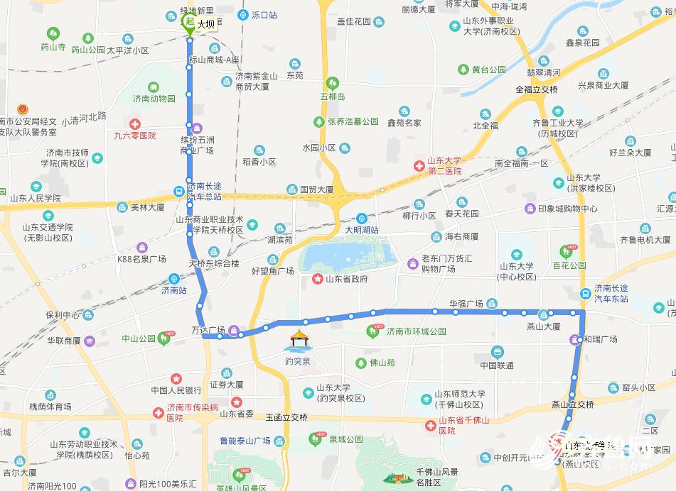 元旦(dan)假期濟南公交K50路增(zeng)加(jia)班次 出去游(you)玩(wan)更(geng)方便