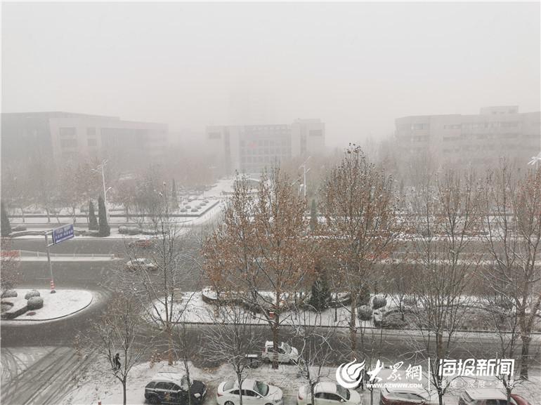 下(xia)雪了!德(de)州發布道路結冰(bing)預警 多個高速(su)口封(feng)閉(bi)