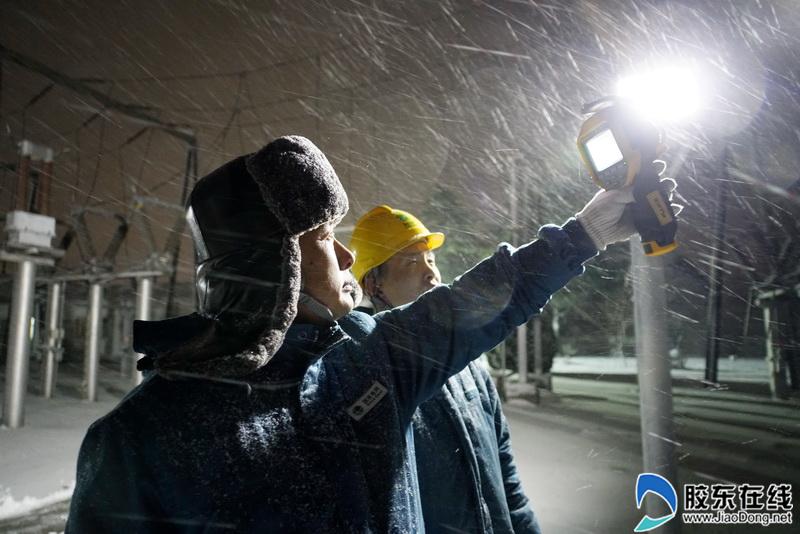 棲(qi)霞供電︰風雪保電 日夜兼程