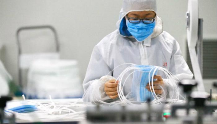山(shan)東青島︰加緊生產保供應