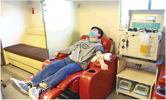 山東首例!德州新冠肺炎(yan)康復(fu)者捐(juan)獻血漿