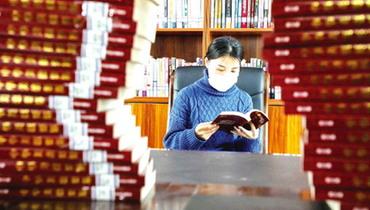 山(shan)東省(sheng)東營市︰農家書屋有序開放(fang)