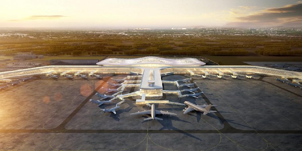 投資55個億!煙臺機場二期擴建工程正式開工!