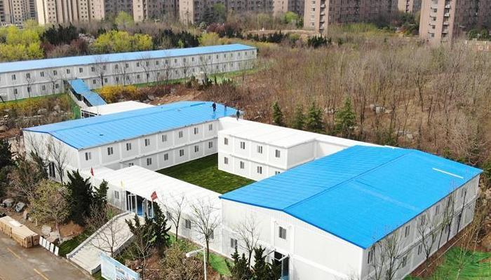 山東建築大學建設隔離區保障開學安全