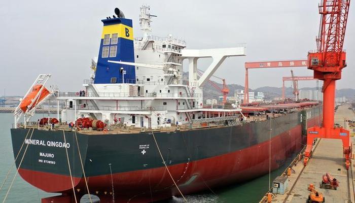 山東即墨:造船企業加緊趕制海外訂單