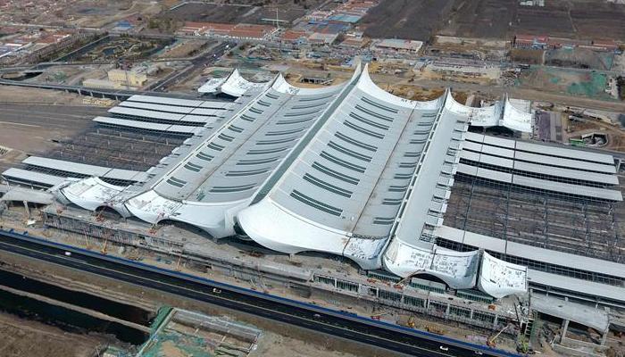 山東︰濟青(qing)高鐵紅(hong)島站建設提速(su)