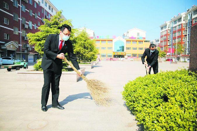 山東省齊河縣︰青年法官(guan)志願服務