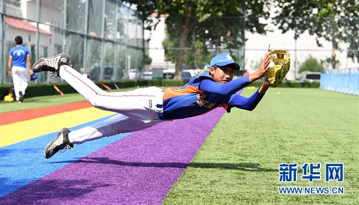 全民健身——夏日裏的棒球少年