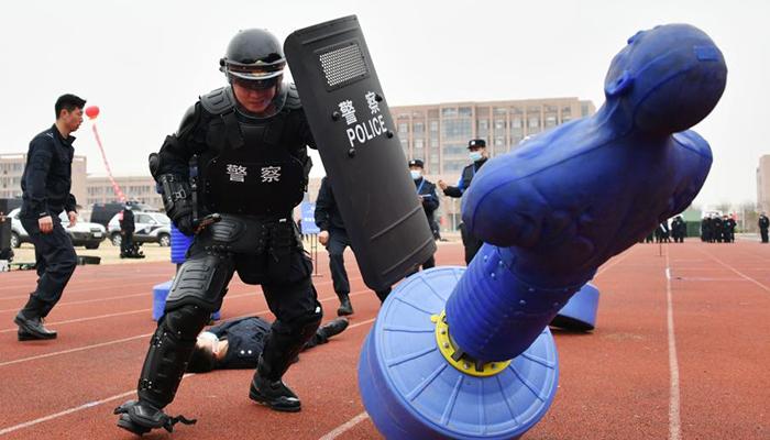 山東舉行全警實戰大練兵比武競賽