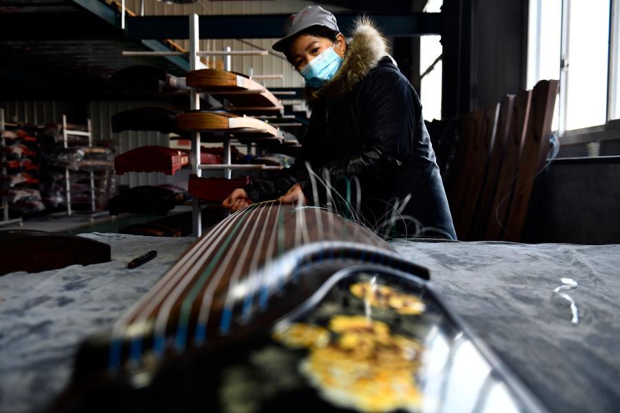 山東鄆城:古箏新曲唱振興