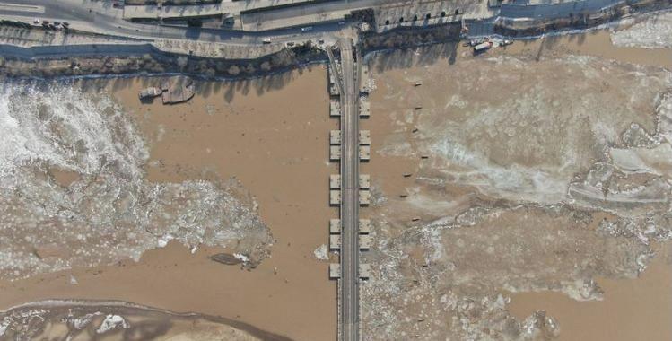 真方便!濟南濼口浮橋恢復通車了